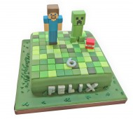 Minecrafttaart bezorgen in Rotterdam