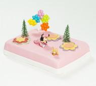 Minnie Mouse babymarsepeintaart bezorgen in Amsterdam