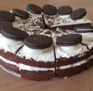 Oreo Layer cake bezorgen in Nijmegen