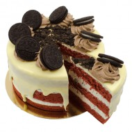 Oreo Velvet Layer Cake bezorgen in Oterdum