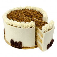 Pecan Nuts Layer Cake bezorgen in Den-Bosch
