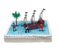 Piraten taart bezorgen in Amsterdam