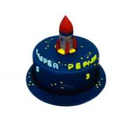 Raket 3D taart bezorgen in Leeuwarden