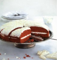 Red Velvet & cream cake bezorgen in Oterdum