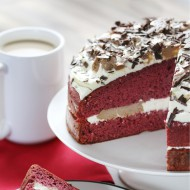 Red velvet ganache cake bezorgen in Rotterdam