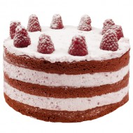 Red Velvet Raspberry Love Layer Cake bezorgen in Wouw