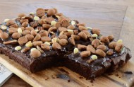 Sint Brownie Taart bezorgen in Zwolle