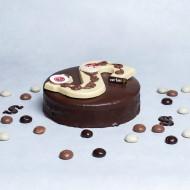Sint Chocolade feest taart bezorgen in Leeuwarden