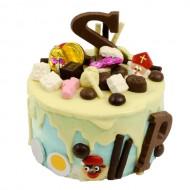 Sint Nicolaas Layer Cake Royaal bezorgen in Oterdum