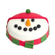 Sneeuwpop Cake bezorgen in Oterdum