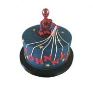 Spiderman 3D taart bezorgen in Rotterdam