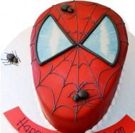 Spiderman taart bezorgen in Almere