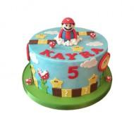 Super Mario 3D taart bezorgen in Amsterdam