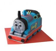 Thomas de trein (locomotief) 3D taart bezorgen in Den-Haag