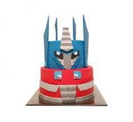 Transformers 3D taart bezorgen in Rotterdam