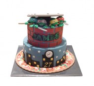 Turtles 3D taart bezorgen in Den-Haag