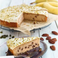 Vegan Banana cake bezorgen in Eindhoven
