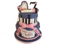 Violetta 3D taart bezorgen in Breda