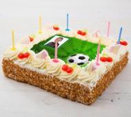 Voetbal fototaart bezorgen in Utrecht