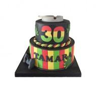 Wiet 3D taart bezorgen in Almere